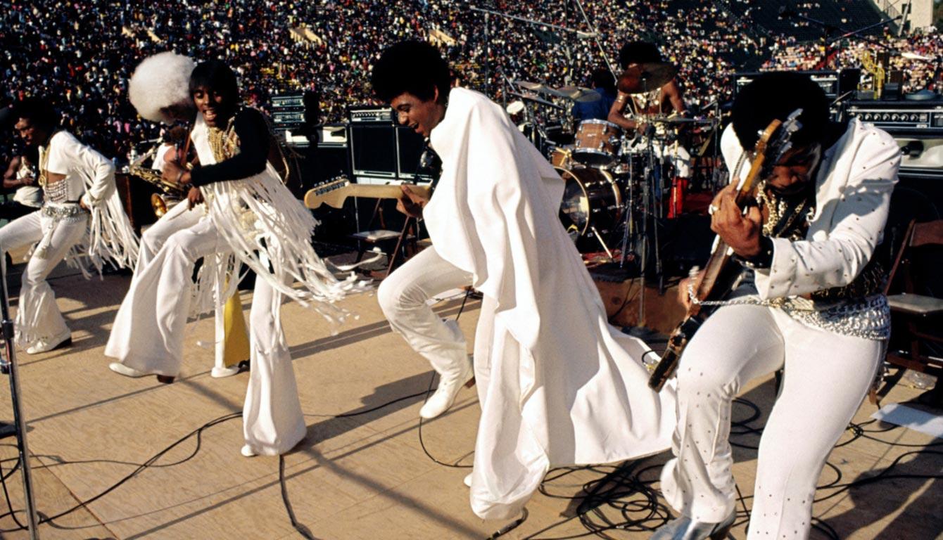 Wattstax band playing